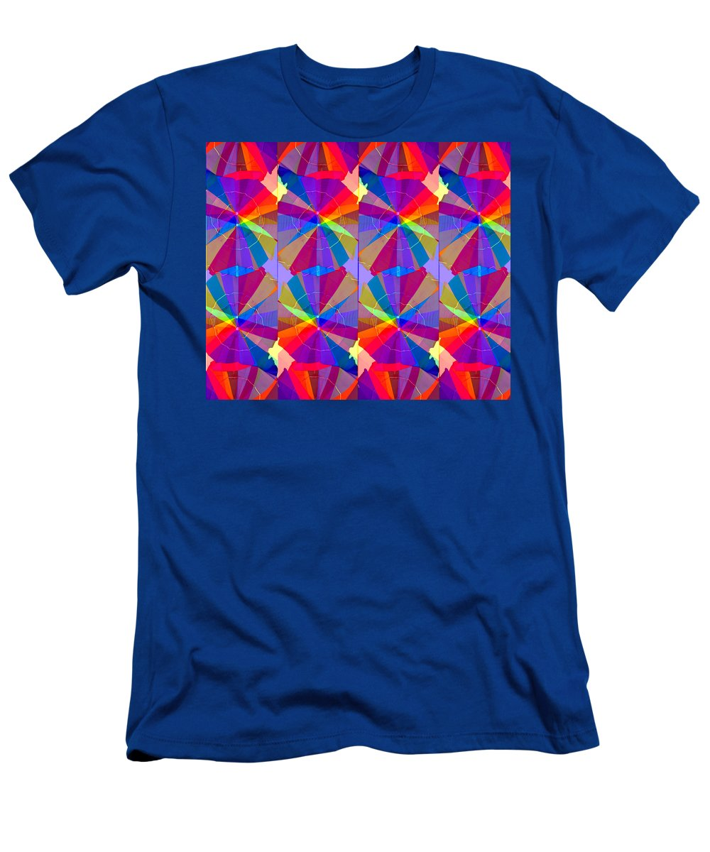Abstract Art Men's T-Shirt (Athletic Fit) featuring the digital art Just Beach Me by David Lee Thompson
