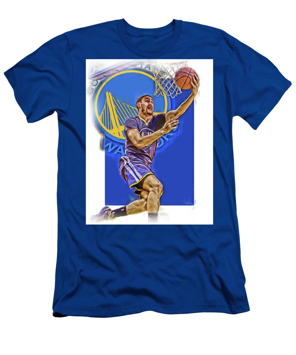 2cc67610f90 Klay Thompson Men's T-Shirt (Athletic Fit) featuring the mixed media Klay  Thompson