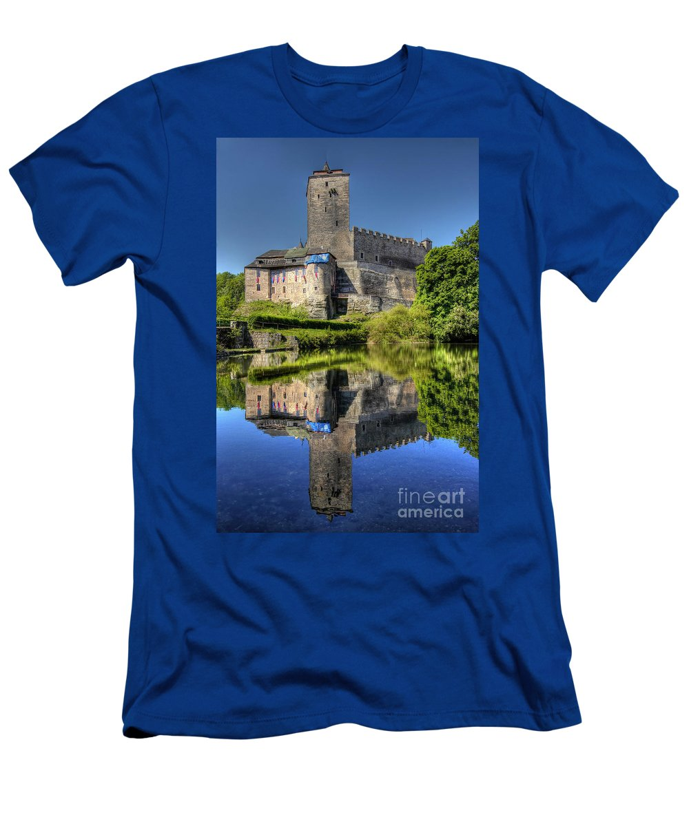 Kost Men's T-Shirt (Athletic Fit) featuring the photograph Kost Castle by Michal Boubin