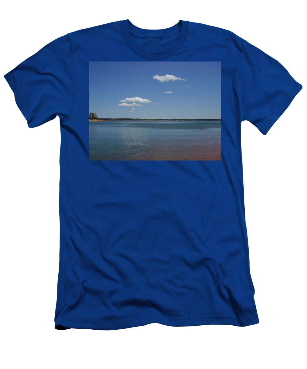 Lake Hartwell Men's T-Shirt (Athletic Fit) featuring the photograph Lake Hartwell by Flavia Westerwelle