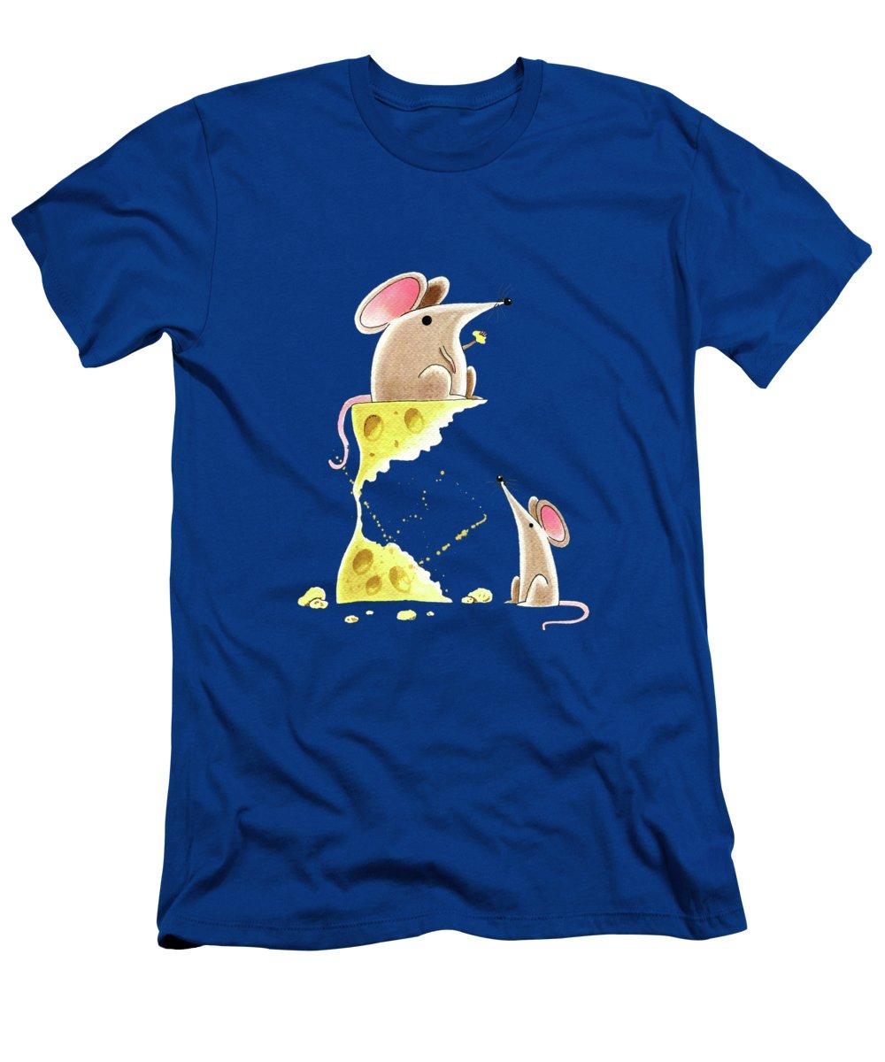 Mice Slim Fit T-Shirts