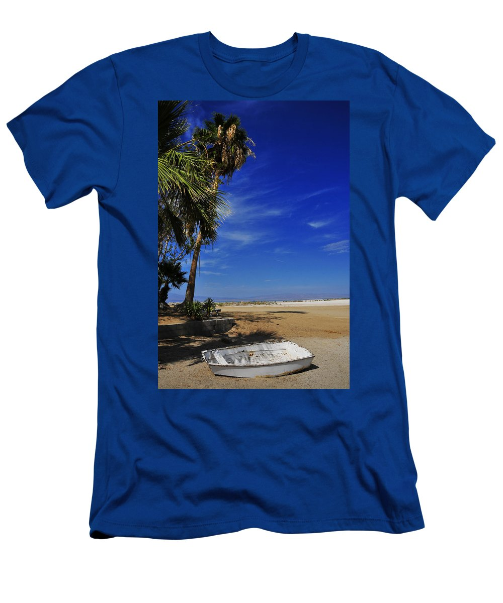 Marooned Men's T-Shirt (Athletic Fit) featuring the photograph Marooned by Skip Hunt