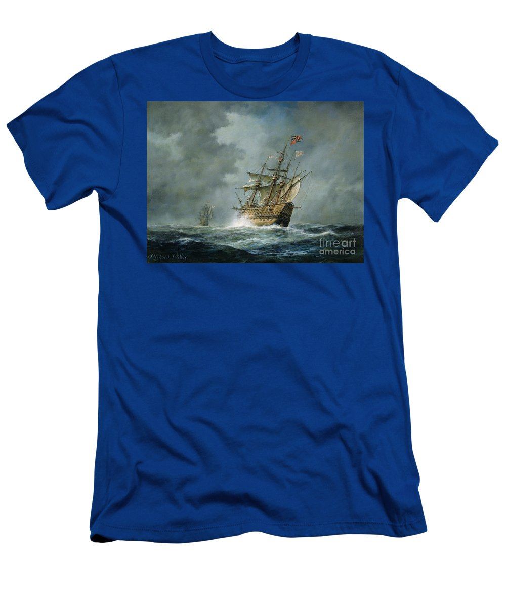 Mary Rose T-Shirt featuring the painting Mary Rose by Richard Willis