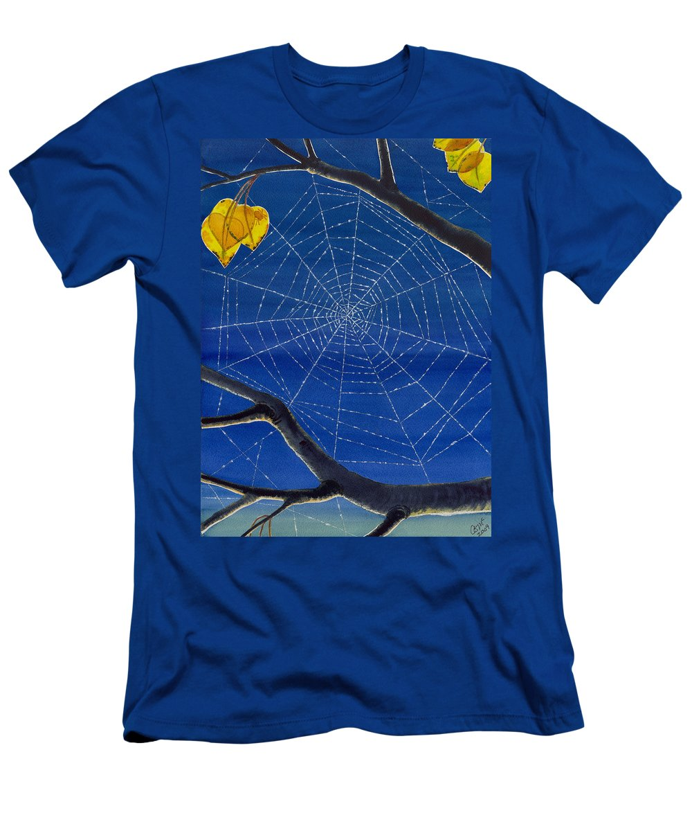 Aspen Men's T-Shirt (Athletic Fit) featuring the painting Morning Magic by Catherine G McElroy