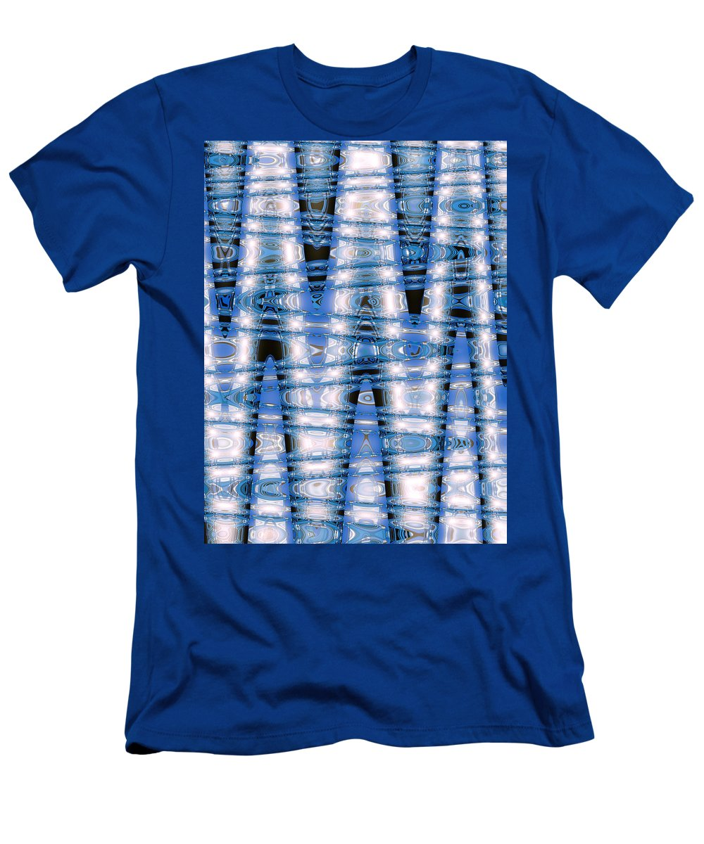 Moveonart Digital Gallery Lower Nob Hill San Francisco California Jacob Kanduch Men's T-Shirt (Athletic Fit) featuring the digital art Moveonart Future Visions 1 by Jacob Kanduch