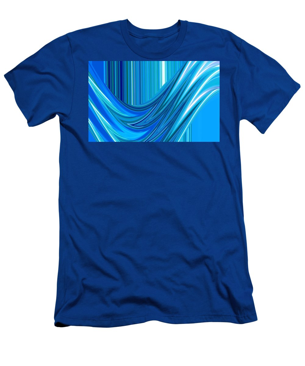 Moveonart Digital Gallery San Francisco California Lower Nob Hill Jacob Kane Kanduch Men's T-Shirt (Athletic Fit) featuring the digital art Moveonart Marvels Clean Water Act by Jacob Kanduch