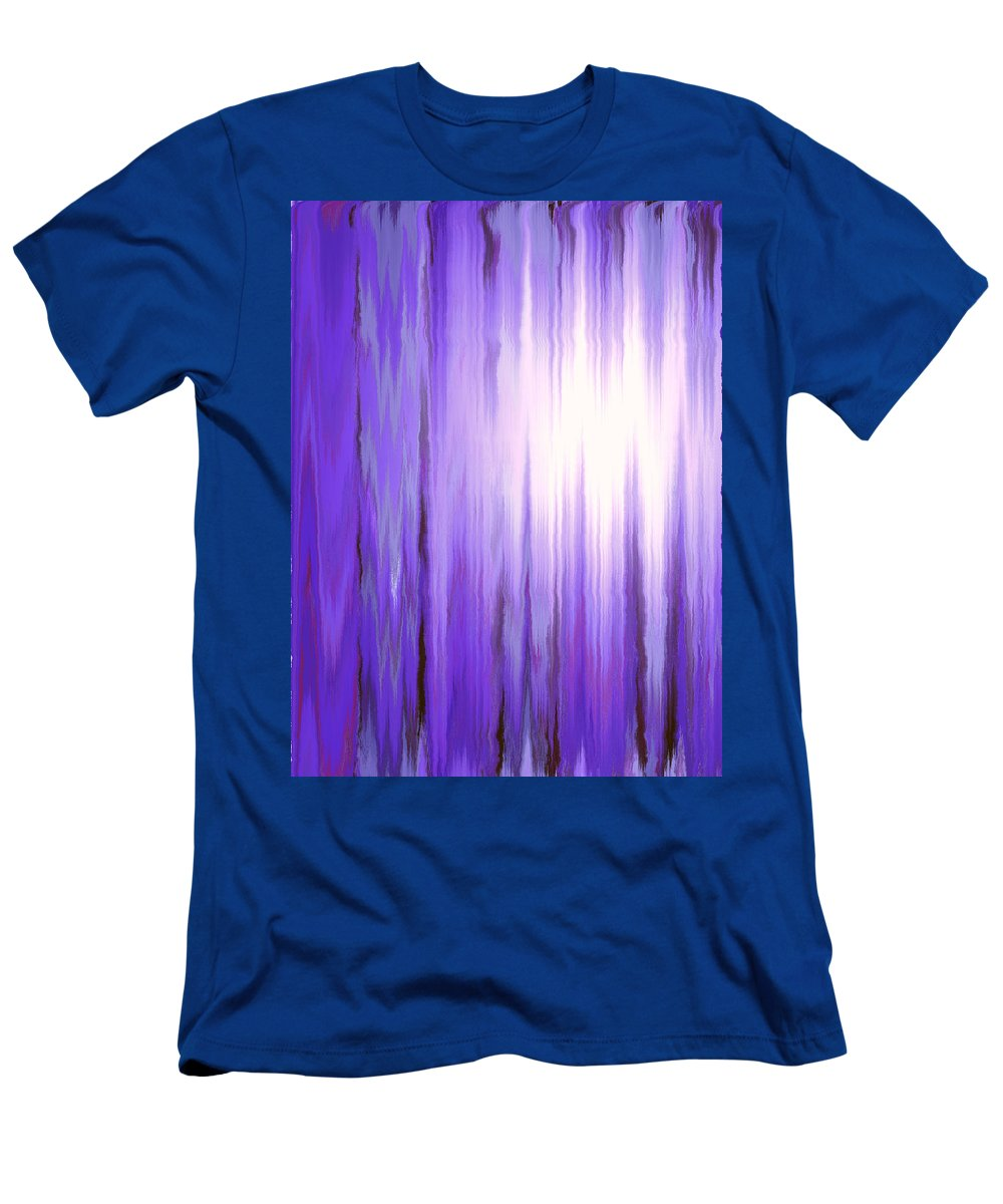 Moveonart Digital Gallery San Francisco California Lower Nob Hill Jacob Kane Kanduch Men's T-Shirt (Athletic Fit) featuring the digital art Moveonart Time 1 by Jacob Kanduch