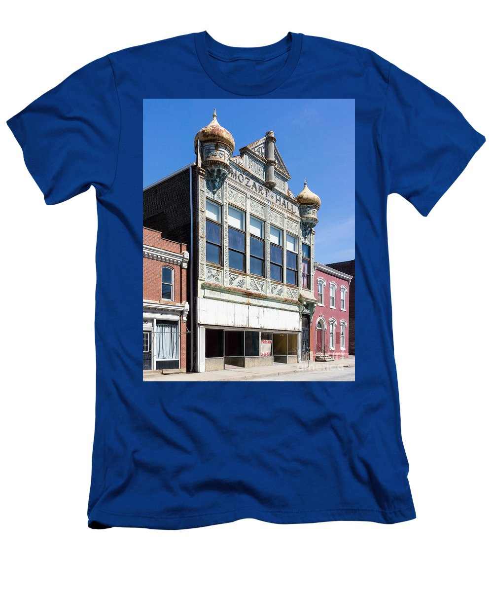 Mozart Hall Men's T-Shirt (Athletic Fit) featuring the photograph Mozart Hall by John Waclo