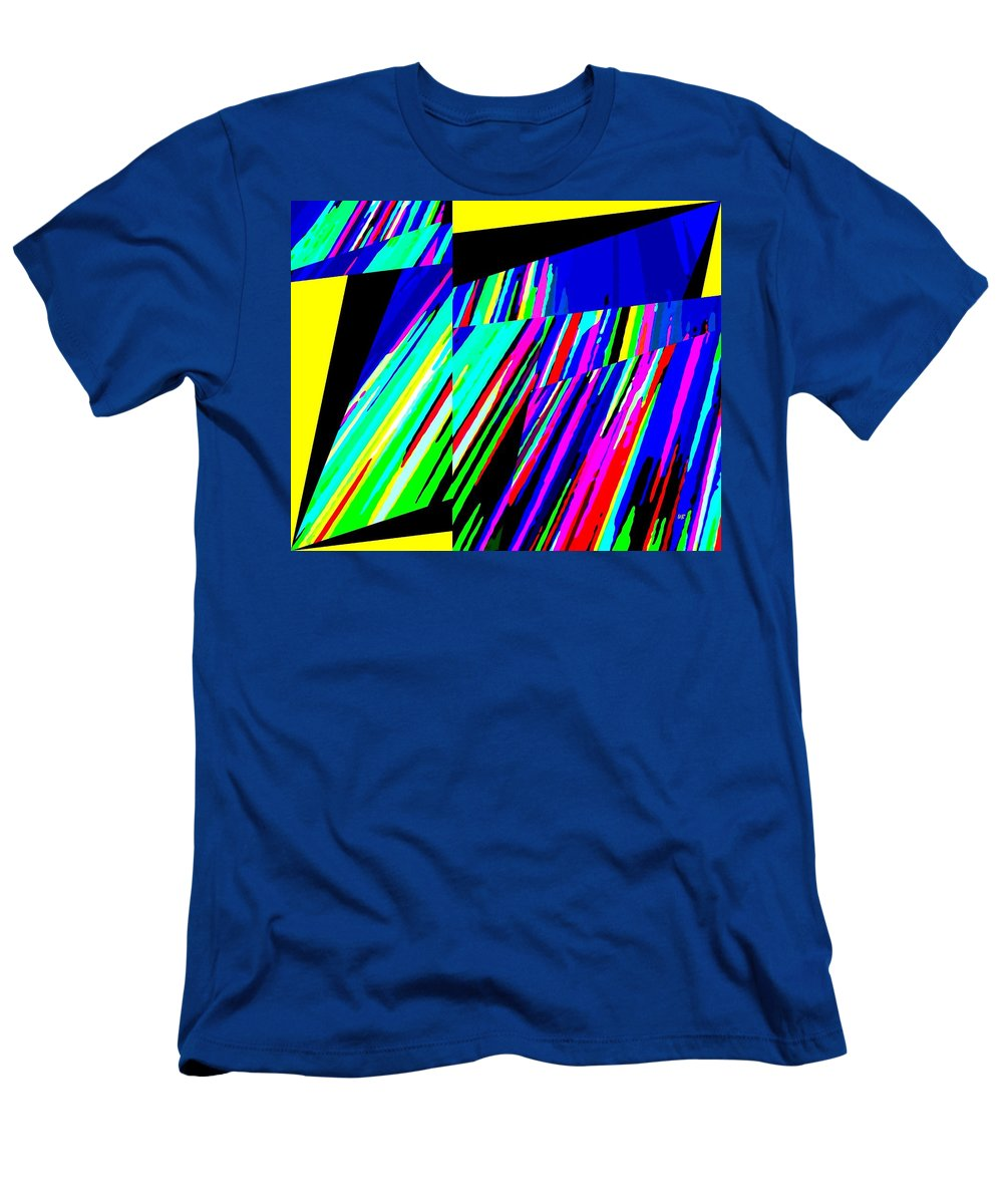 Abstract Men's T-Shirt (Athletic Fit) featuring the digital art Muse 5 by Will Borden