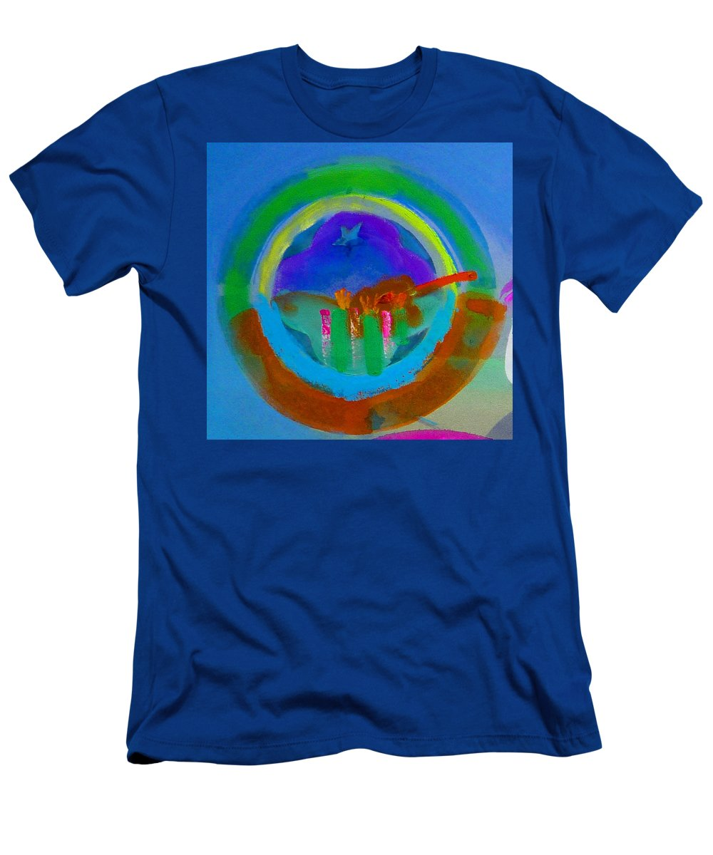Love Men's T-Shirt (Athletic Fit) featuring the painting New World Spring by Charles Stuart