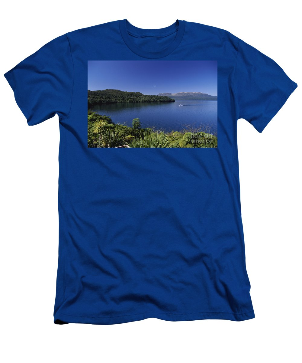 Beautiful Men's T-Shirt (Athletic Fit) featuring the photograph New Zealand, Rotorua by Greg Vaughn - Printscapes
