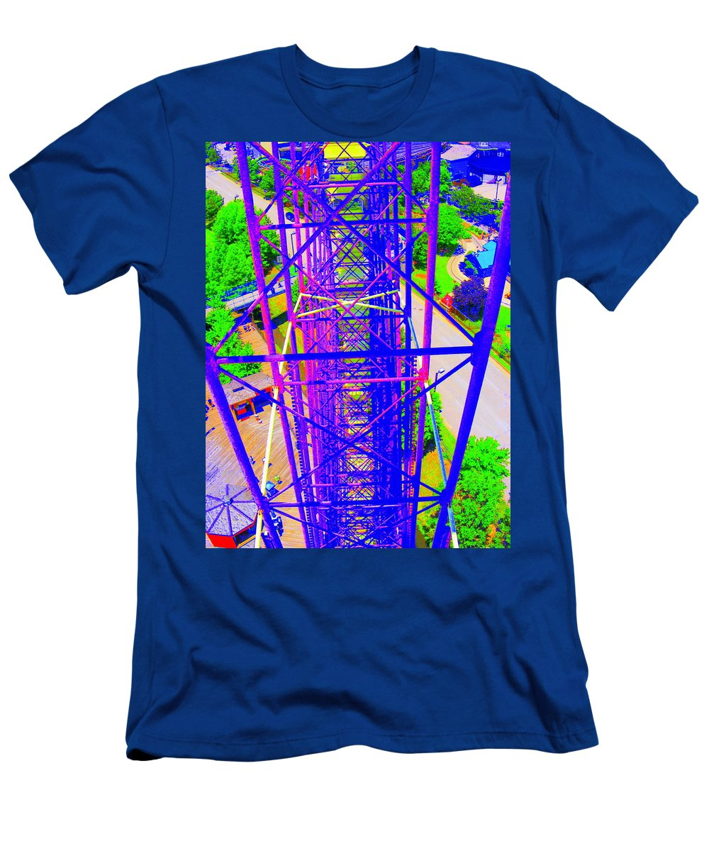 Still Life Men's T-Shirt (Athletic Fit) featuring the photograph On Top Of The World by Ed Smith