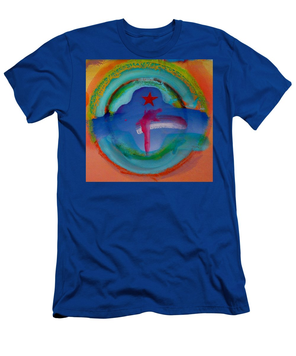Logo Men's T-Shirt (Athletic Fit) featuring the painting one by Charles Stuart