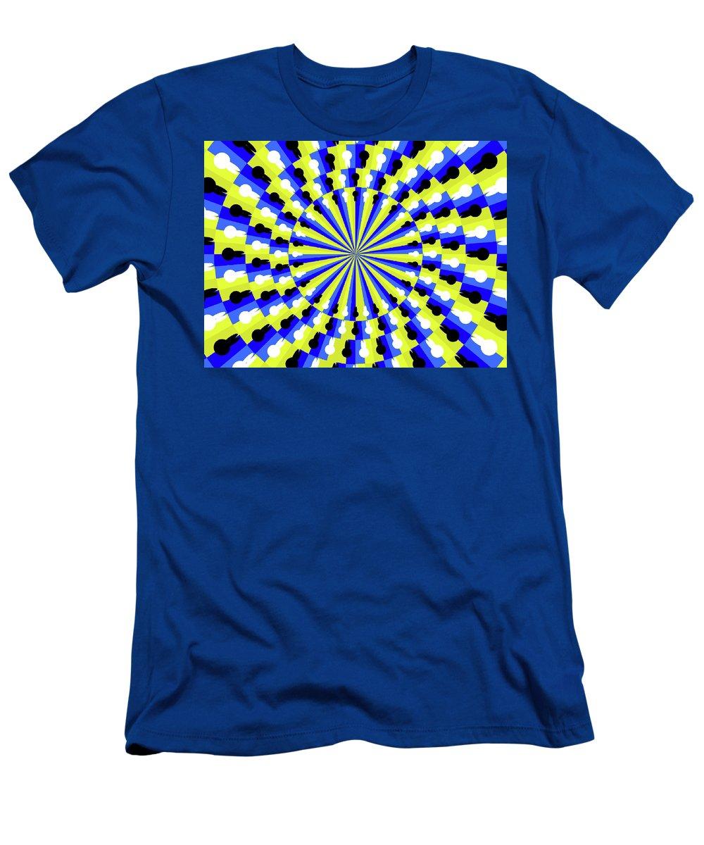 Optical T-Shirt featuring the ceramic art Optical Illusion Professor by Akiyoshi Kitaoka