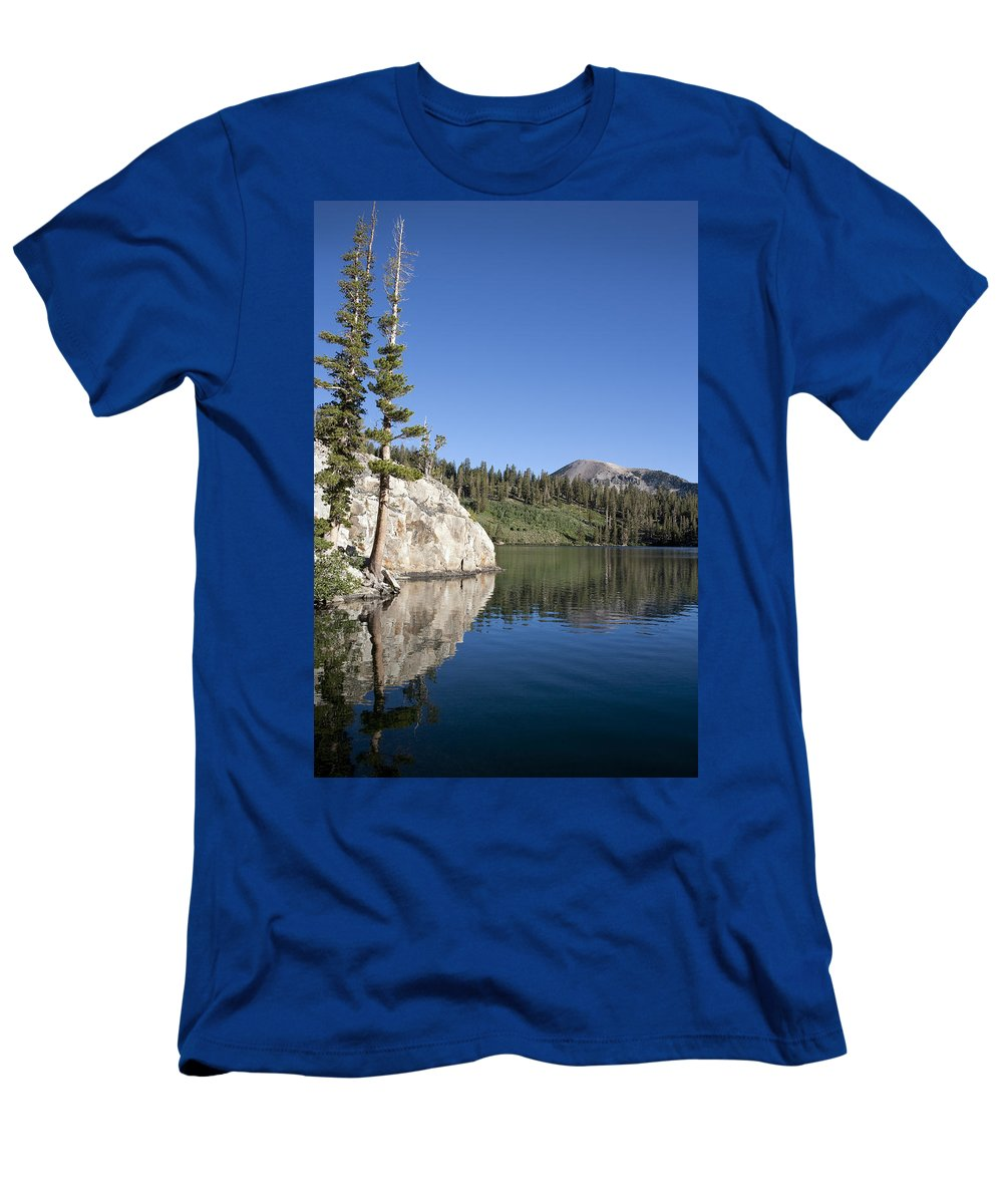 Water Men's T-Shirt (Athletic Fit) featuring the photograph Peaceful by Kelley King