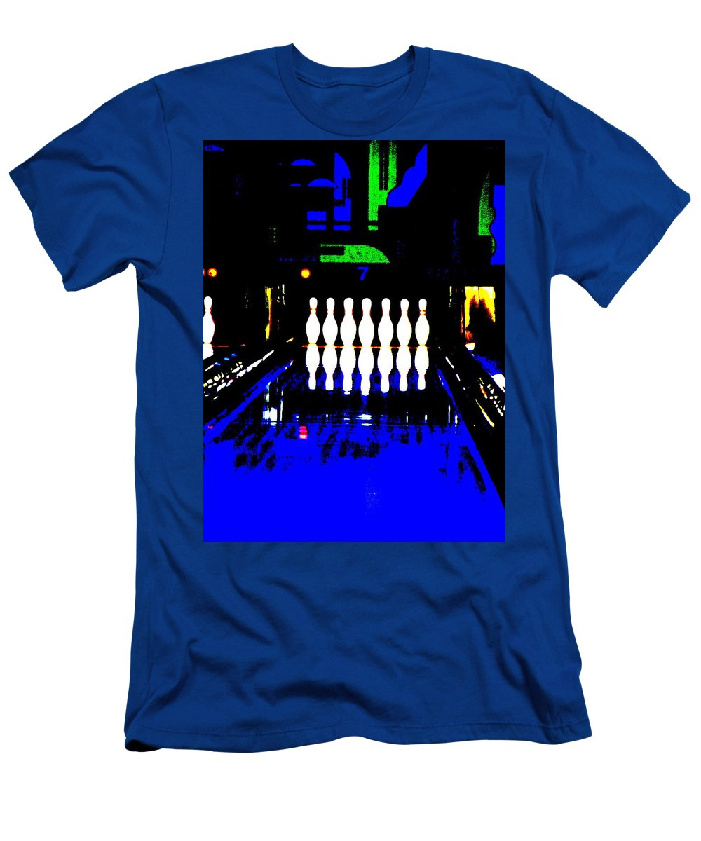Still Life Men's T-Shirt (Athletic Fit) featuring the photograph Pin Heads by Ed Smith