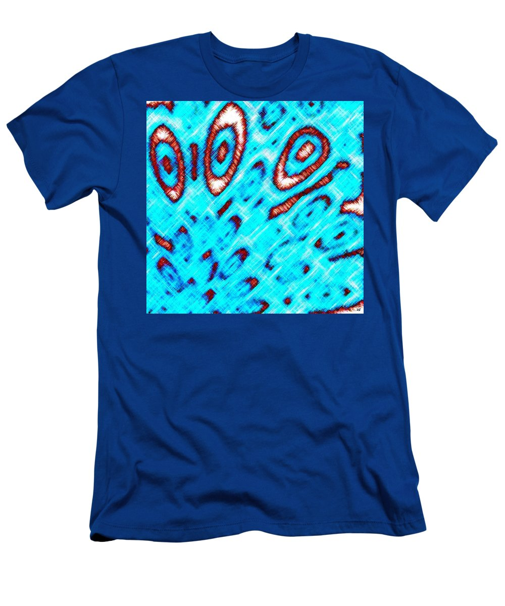 Abstract Men's T-Shirt (Athletic Fit) featuring the digital art Pizzazz 6 by Will Borden