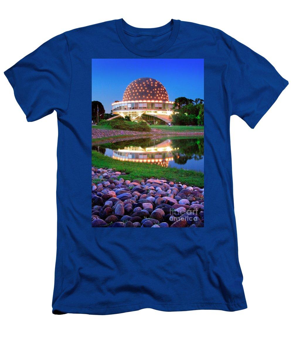 Planetarium Men's T-Shirt (Athletic Fit) featuring the photograph Planetario by Bernardo Galmarini