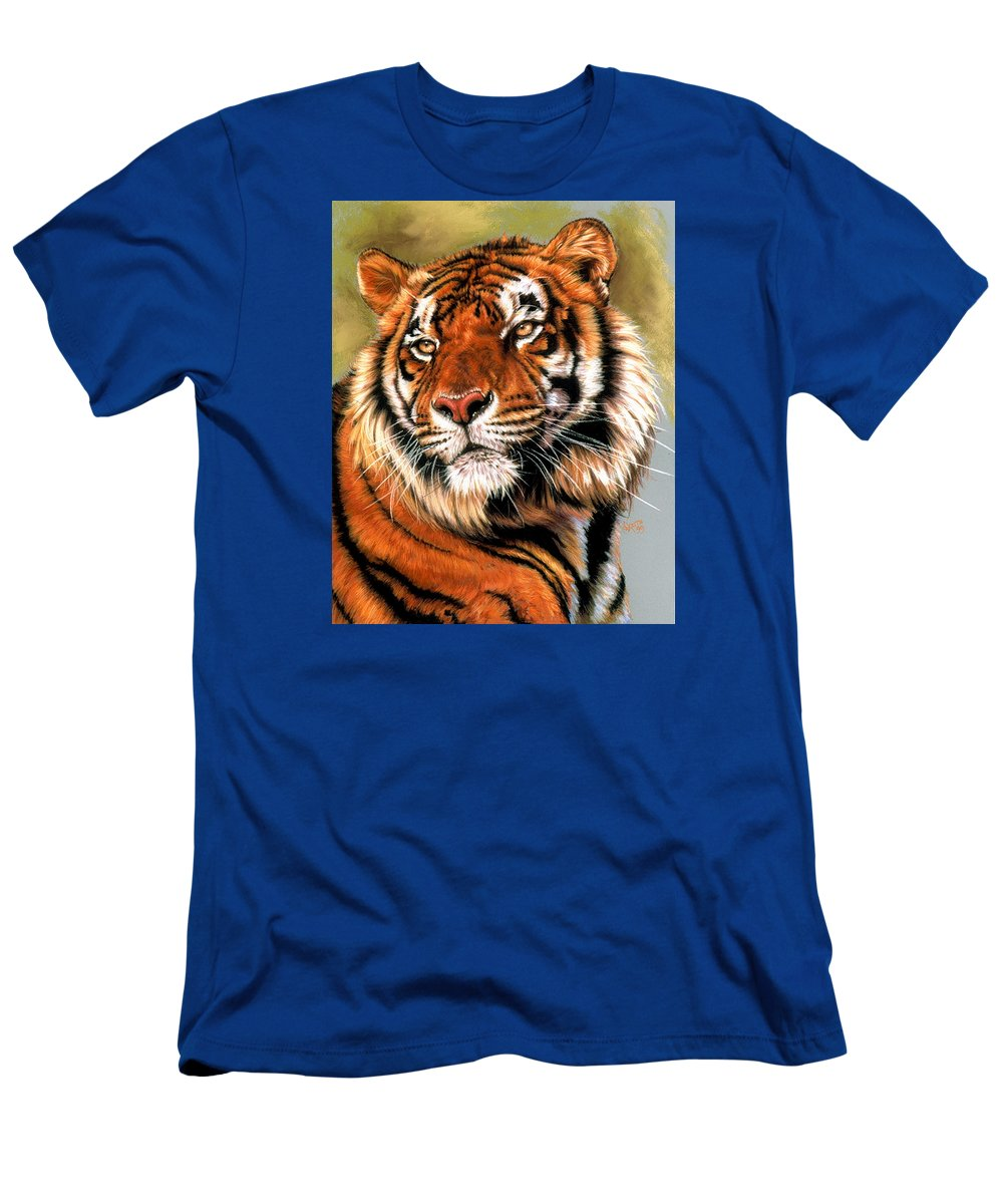 Tiger T-Shirt featuring the pastel Power and Grace by Barbara Keith