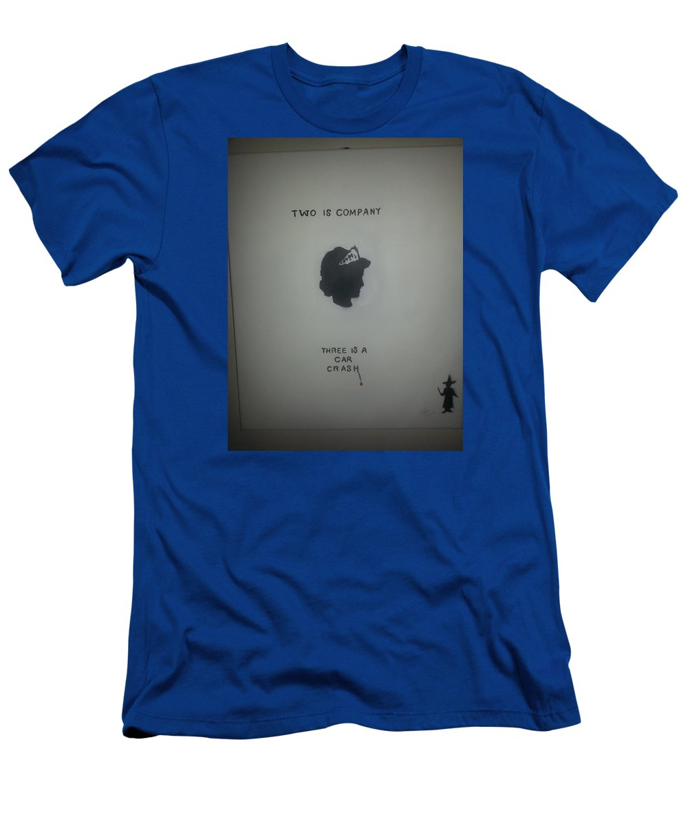 Figurative Men's T-Shirt (Athletic Fit) featuring the painting Princess Diana by MERLIN Vernon