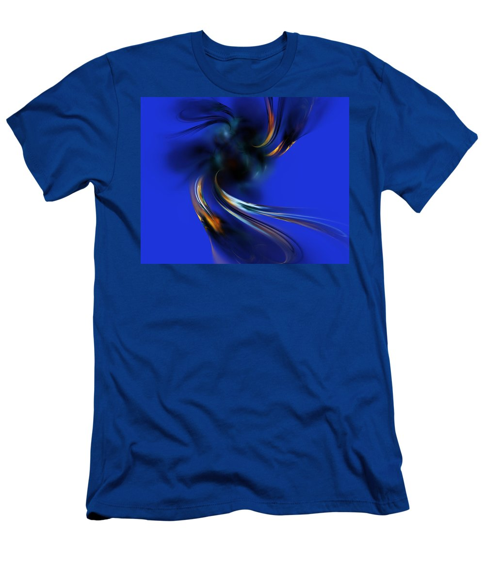 Digital Painting Men's T-Shirt (Athletic Fit) featuring the digital art Queen Maub's Emergence From The Nevernever by David Lane