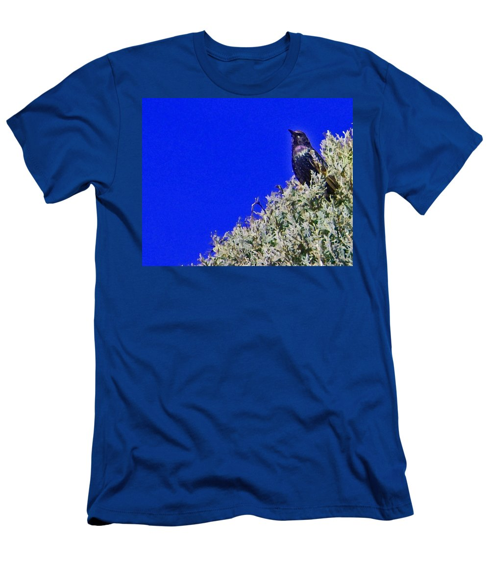 Abstract Men's T-Shirt (Athletic Fit) featuring the photograph Queen Of My Domain by Lenore Senior