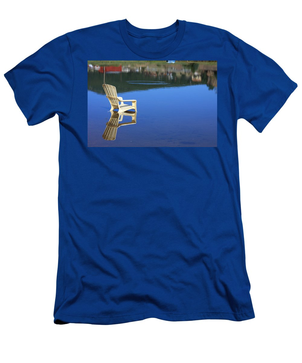 Water T-Shirt featuring the photograph Reflections Fine Art Photography Print by James BO Insogna