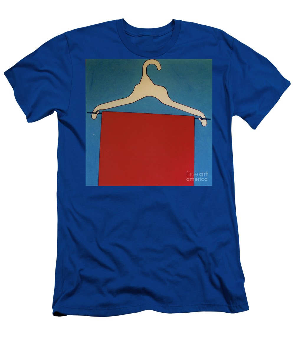 Clothes Hanger Men's T-Shirt (Athletic Fit) featuring the drawing Rfb0925 by Robert F Battles