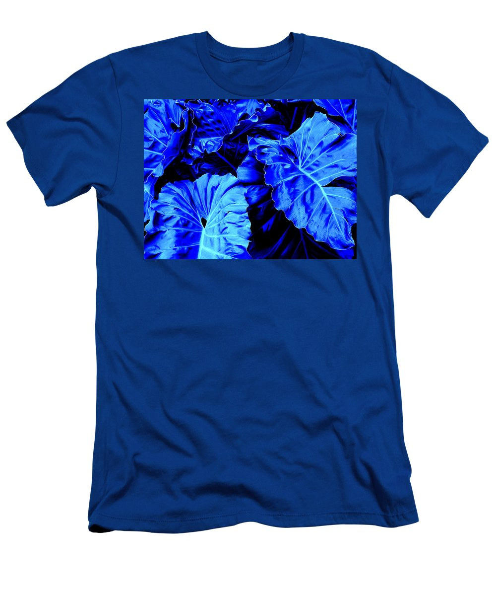 Blue Men's T-Shirt (Athletic Fit) featuring the photograph Romney Blue by Ian MacDonald