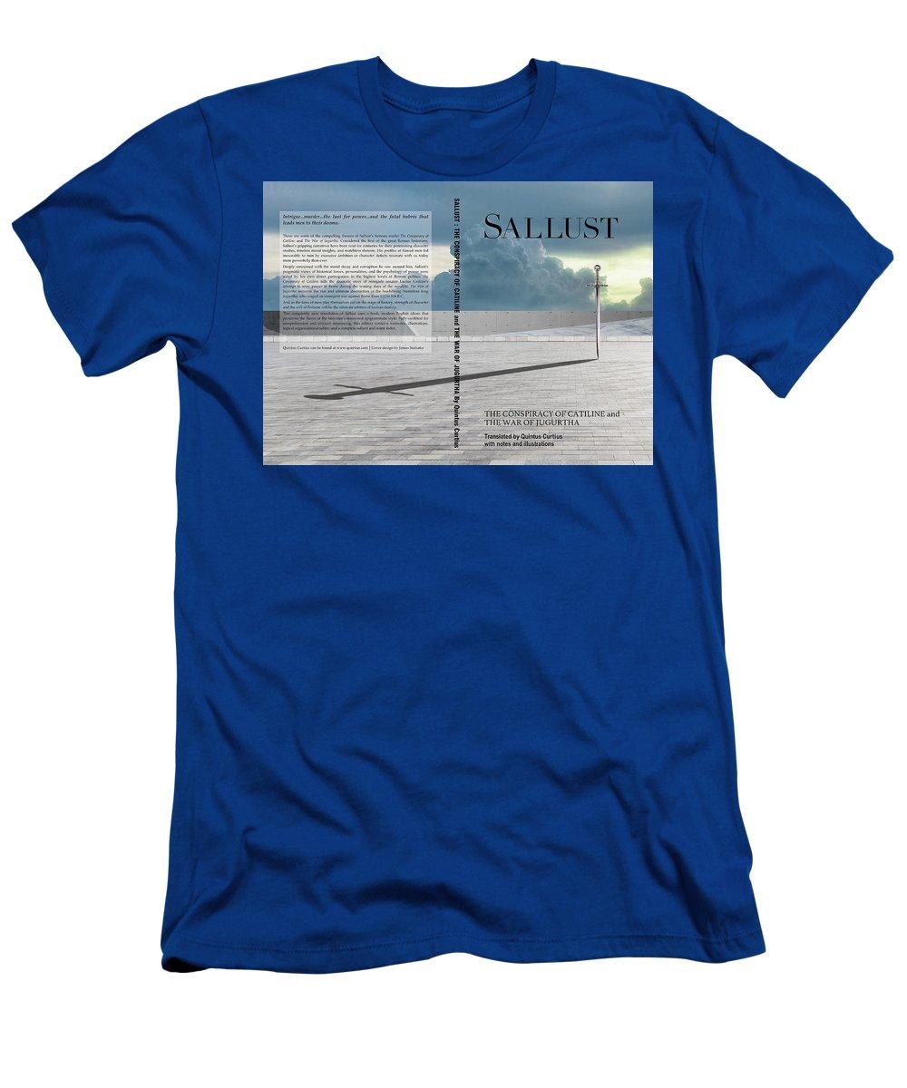 Quintus Curtius T-Shirt featuring the digital art Sallust Cover by Quintus Curtius
