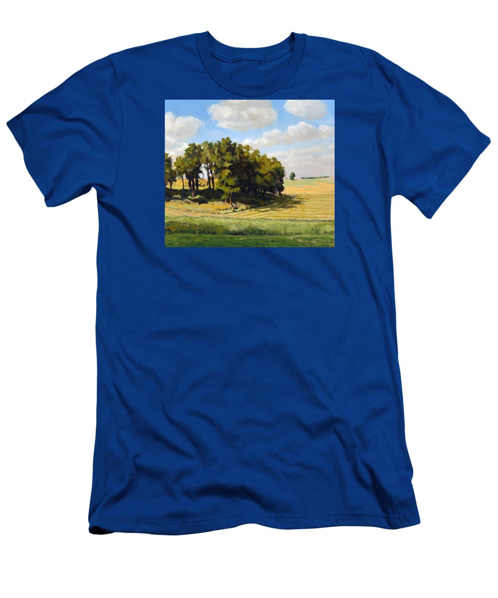 Landscape T-Shirt featuring the painting September Summer by Bruce Morrison
