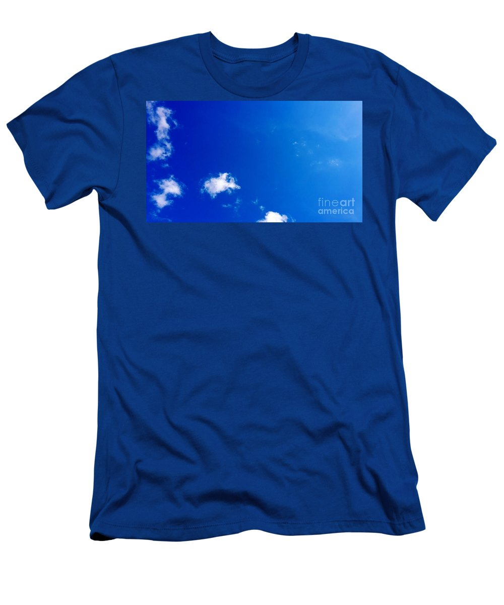 Sky Men's T-Shirt (Athletic Fit) featuring the photograph sky by Ferhad