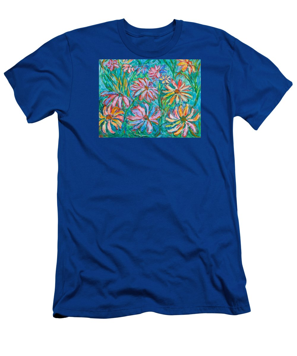 Impressionist T-Shirt featuring the painting Swirling Color by Kendall Kessler