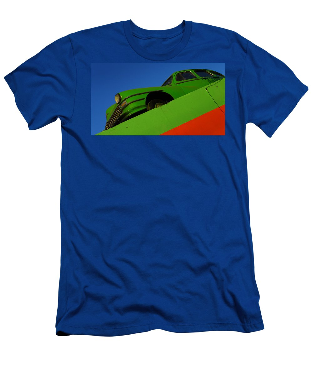 Skip Hunt Men's T-Shirt (Athletic Fit) featuring the photograph The Way We Roll by Skip Hunt