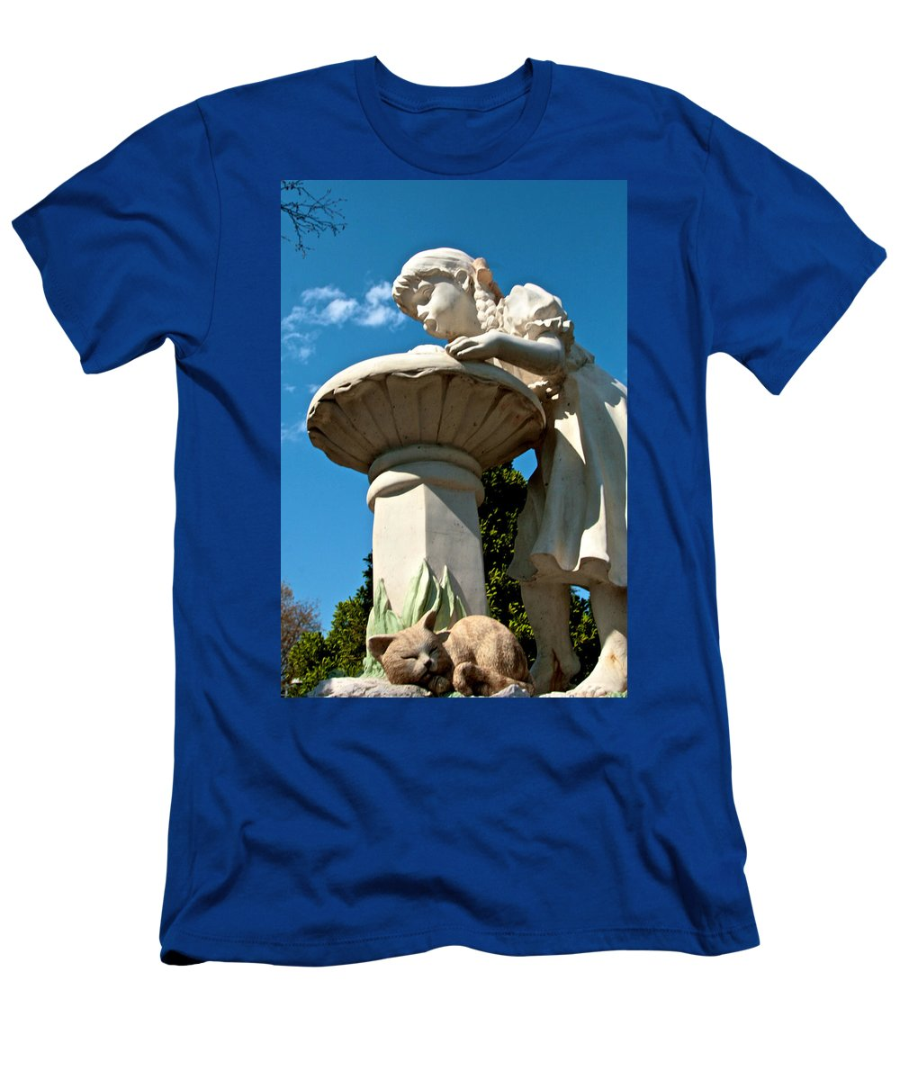 Water Men's T-Shirt (Athletic Fit) featuring the photograph Thirst by Robert Pearson