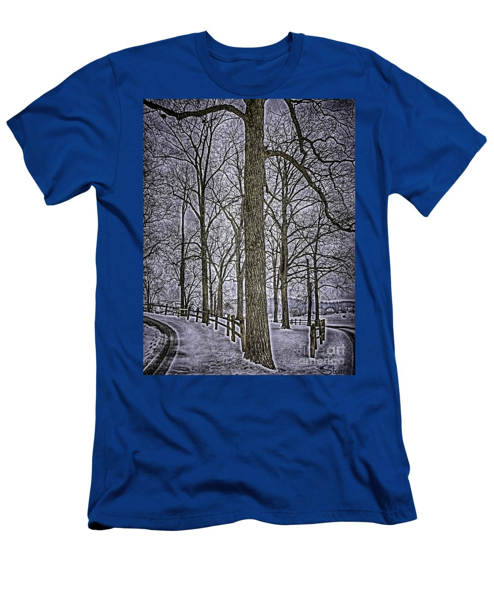 Country T-Shirt featuring the photograph Thompson Lake HDR by September Stone