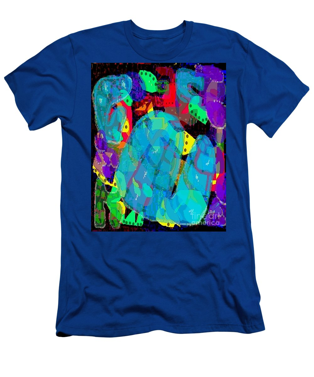 Digital Men's T-Shirt (Athletic Fit) featuring the digital art Transparencies by Ron Bissett