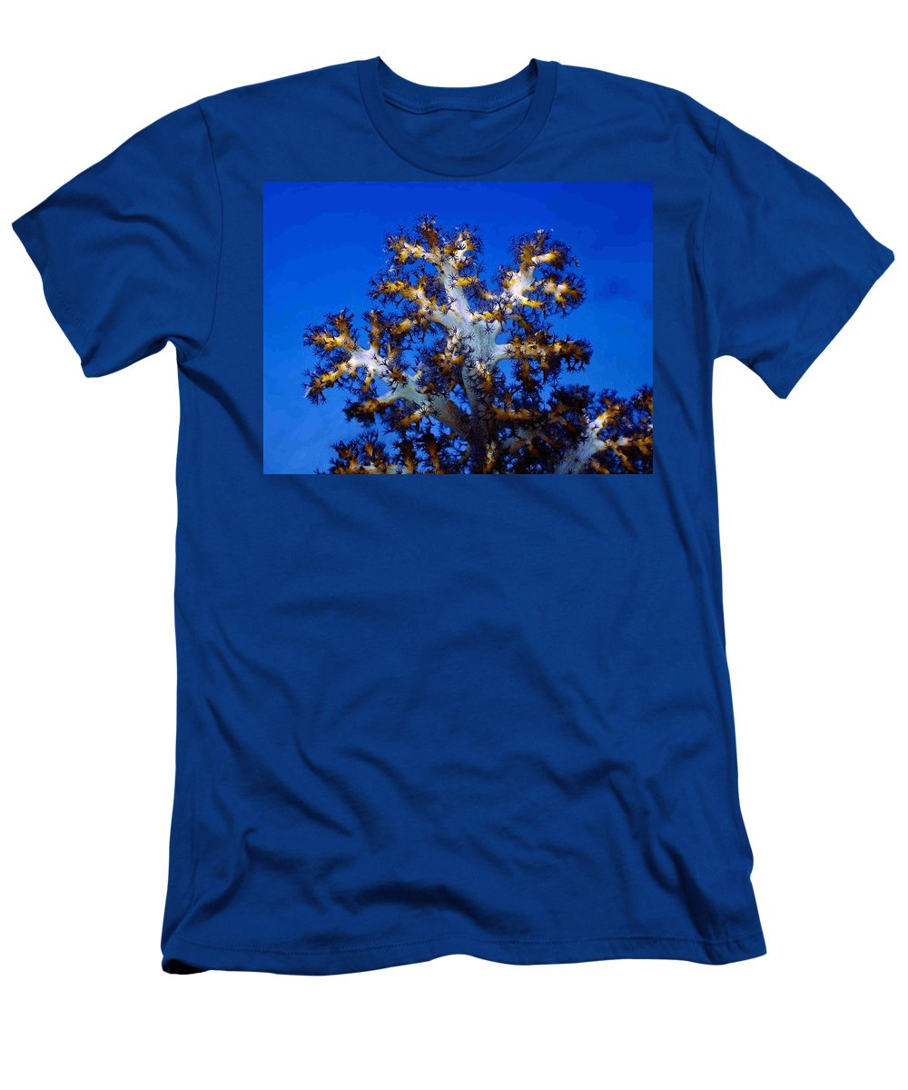 Coral Men's T-Shirt (Athletic Fit) featuring the photograph Tree Coral by Dragica Micki Fortuna