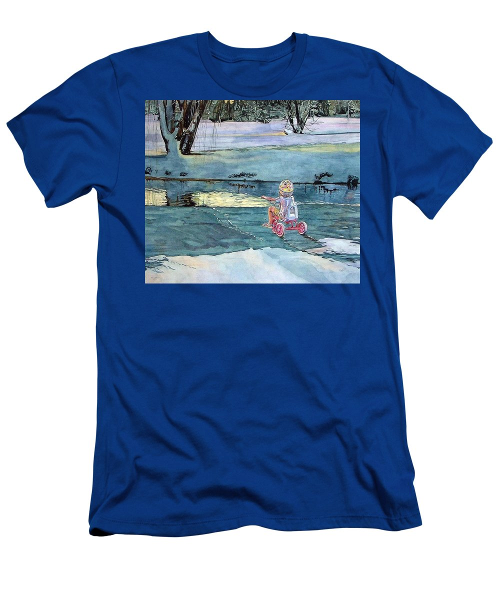 Children T-Shirt featuring the painting Twilight by Valerie Patterson