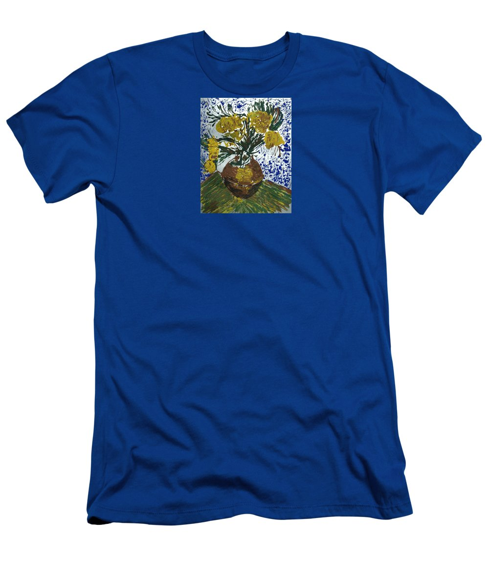 Flowers T-Shirt featuring the painting Van Gogh by J R Seymour