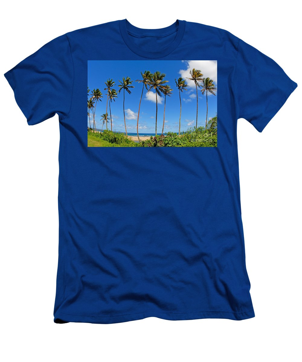 Afternoon Men's T-Shirt (Athletic Fit) featuring the photograph View Of Fiji by Himani - Printscapes