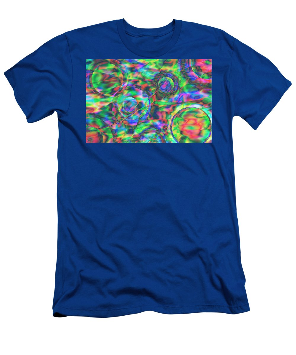 Colors T-Shirt featuring the digital art Vision 28 by Jacques Raffin