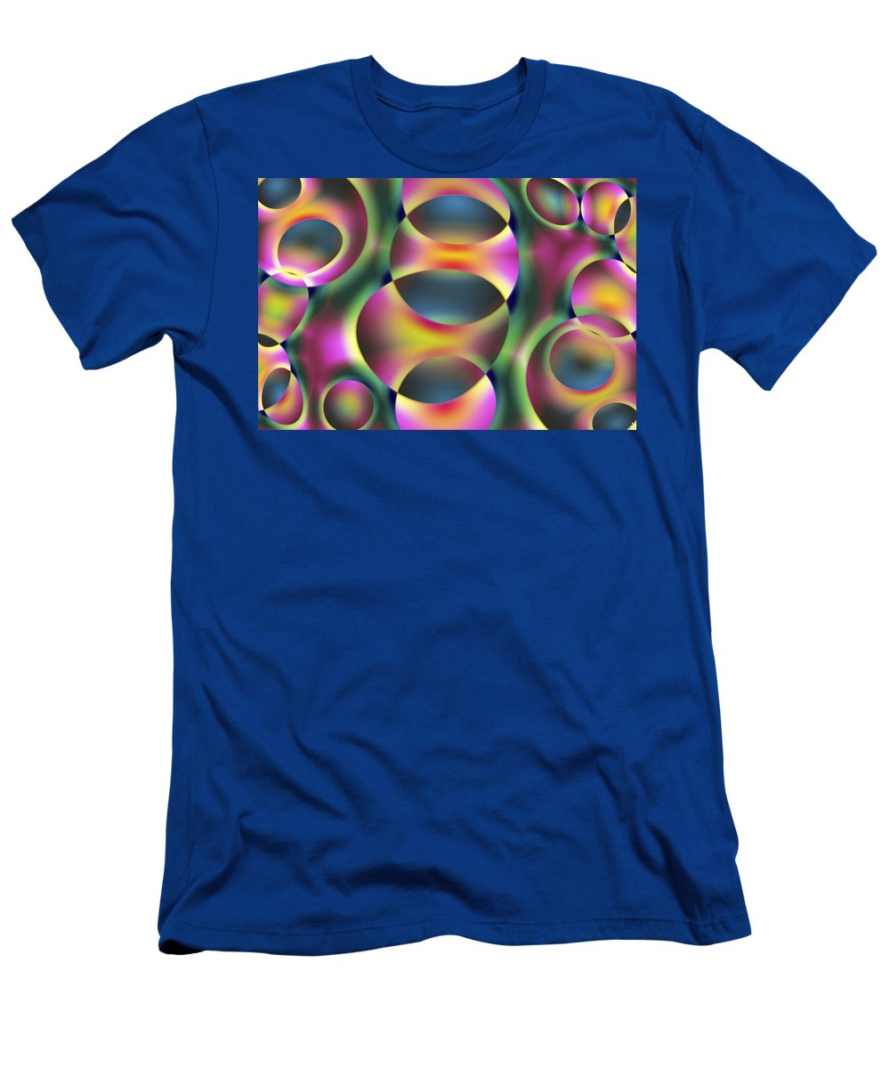 Colors T-Shirt featuring the digital art Vision 40 by Jacques Raffin
