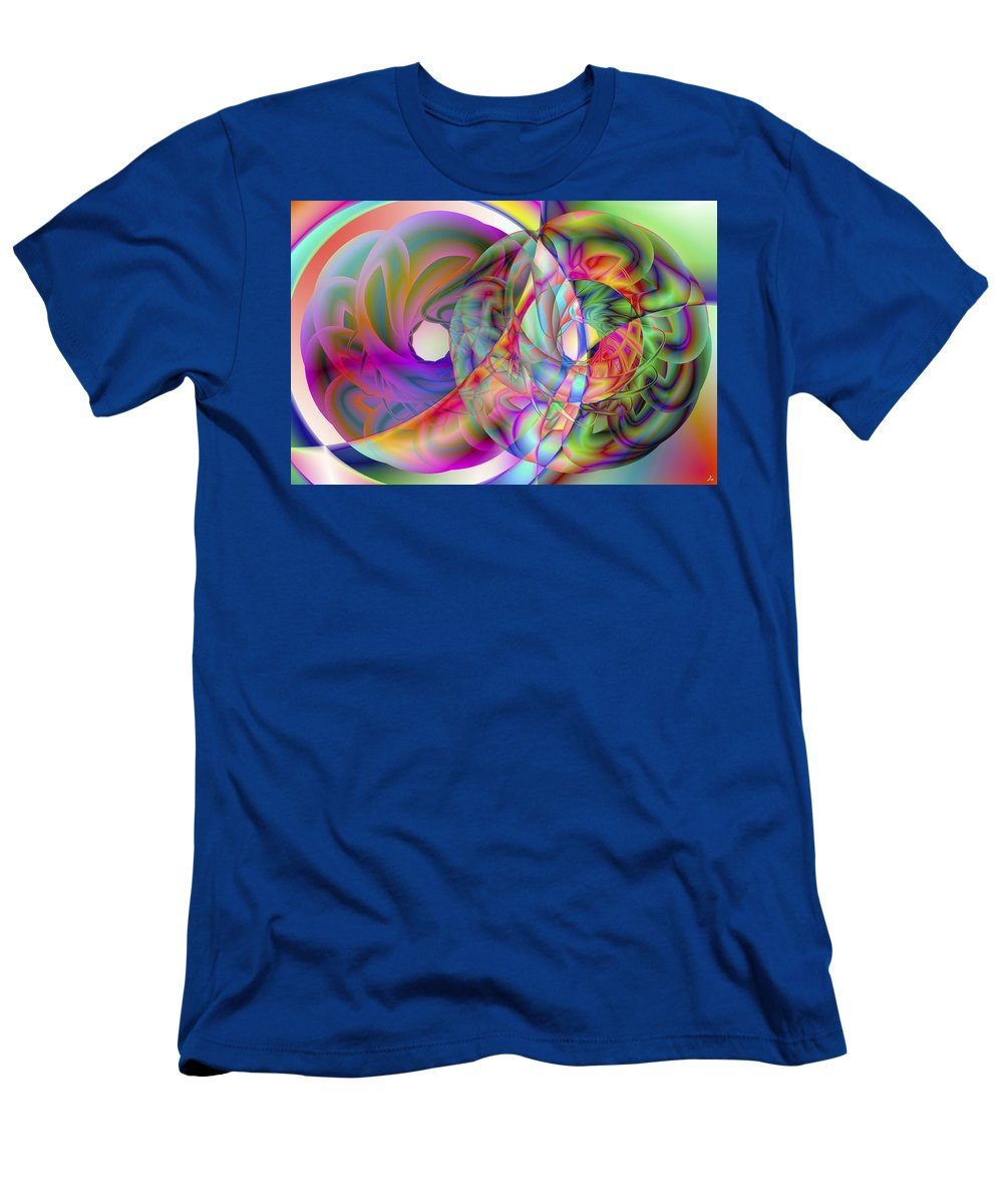 Crazy T-Shirt featuring the digital art Vision 41 by Jacques Raffin