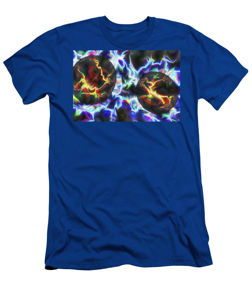 Crazy T-Shirt featuring the digital art Vision 43 by Jacques Raffin