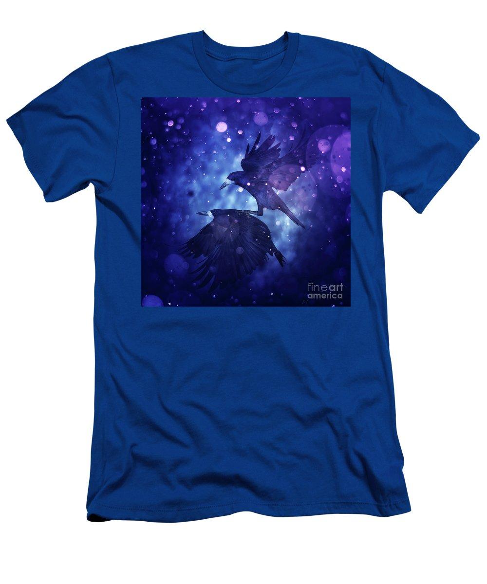 Bird Men's T-Shirt (Athletic Fit) featuring the digital art Bird Kingdom 3 by Johan Lilja