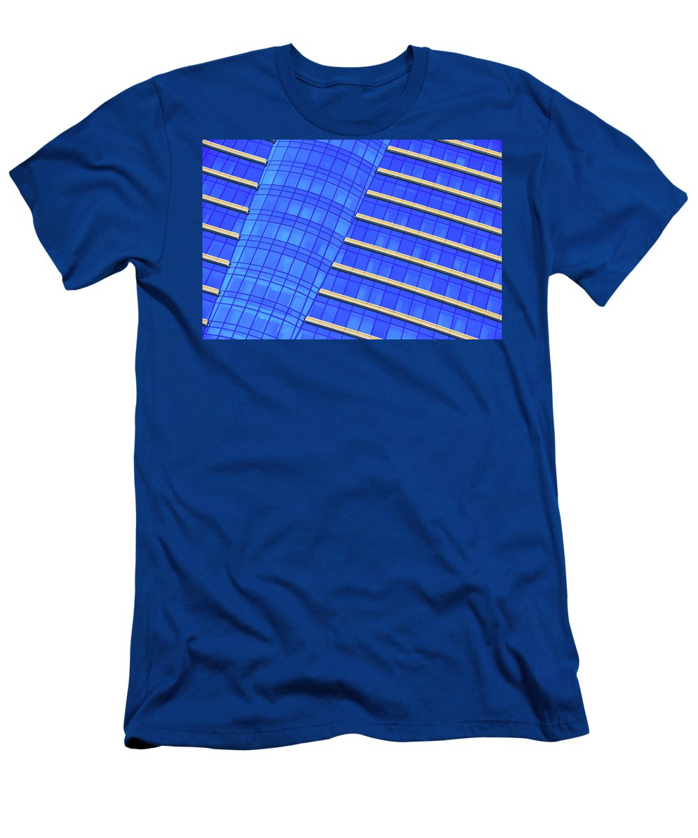 Hilton Men's T-Shirt (Athletic Fit) featuring the photograph Hilton Blues by Iryna Goodall