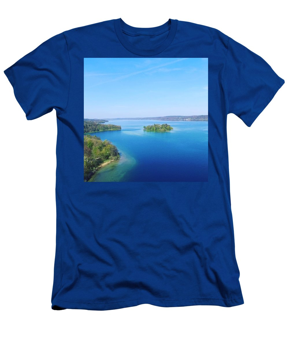 Starnberg T-Shirt featuring the photograph Roseisland by Daniel Hornof