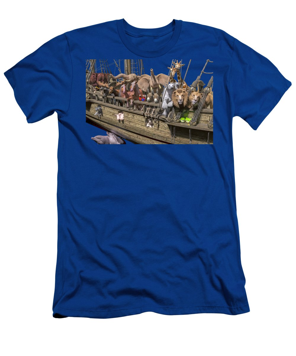 Noah T-Shirt featuring the photograph The Ark by Betsy Knapp