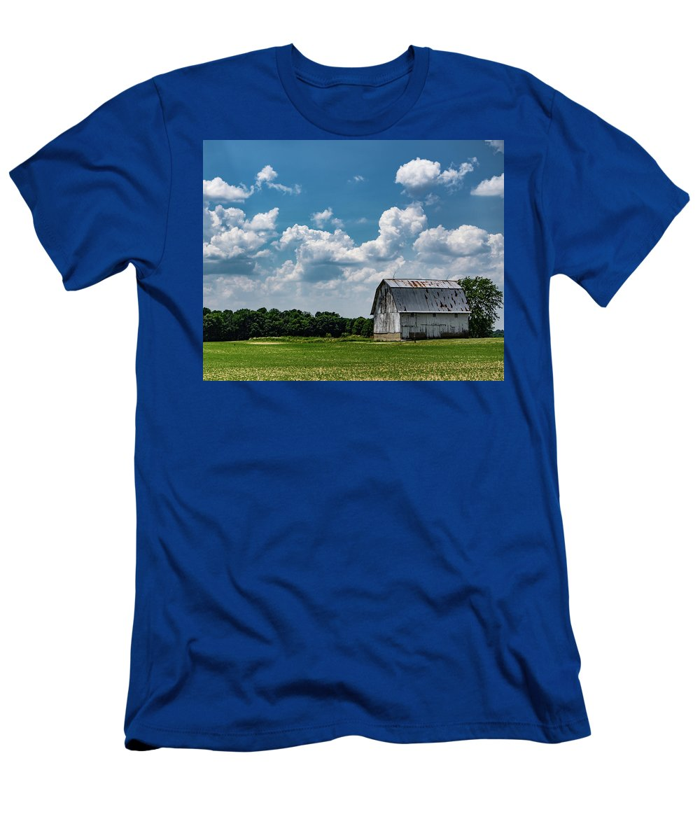 Barn T-Shirt featuring the photograph Indiana Barn, #5 by Scott Smith